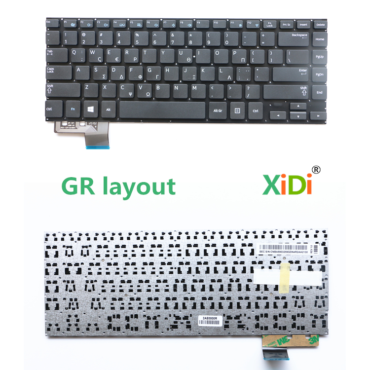 Keyboard for samsung NP530U4C NP530U4B 530U4C 530U4B GR Laptop layout