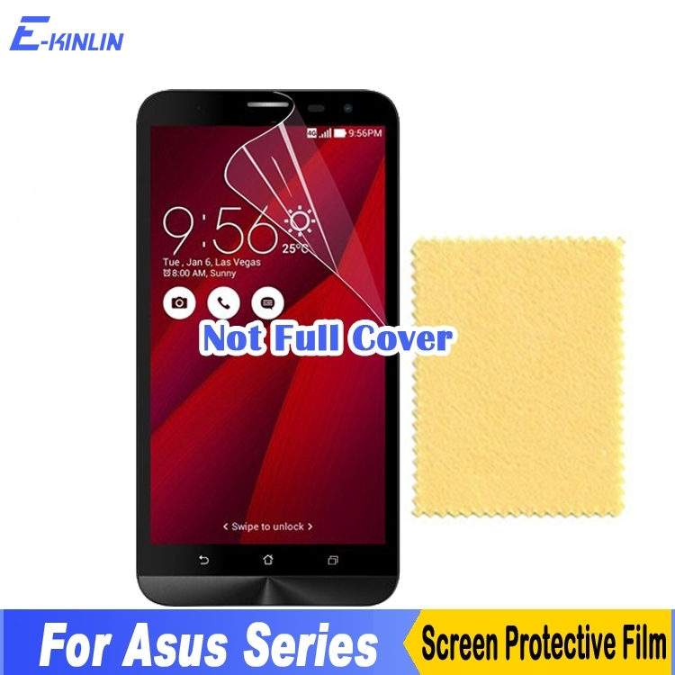 Screen Protector Display Protective Film For Asus Zenfone 3 3s Max GO ZC553KL ZC521TL ZC520TL ZC550KL ZE520KL ZE552KL ZB501KL ...