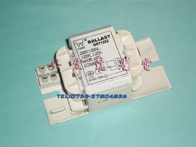 Promotion Sale White Metal Halide Lamp Indicator Light 125w Ballast Metal Halide Lamp Ggy125z