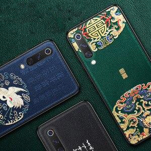 Image 5 - Aixuan Deri Xiao mi mi 9 telefon kılıfı 3D KABARTMA Desenli Deri Silikon arka kapak kılıfları için xiaomi mi mi 9 mi 9 SE Çapa