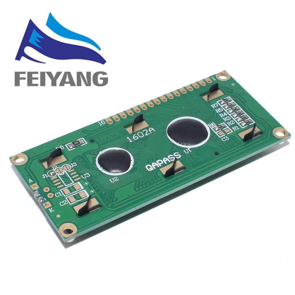 LCD1602 1602 Module LCD Xanh/Vàng Xanh Màn Hình 16x2 Nhân Vật MÀN HÌNH Hiển Thị LCD PCF8574T PCF8574 IIC I2C Giao Diện 5V cho Arduino
