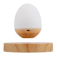 MOXO S1 Magnetic Levitation Speaker Portable Wireless Bluetooth Speakers Wood Base Floating Maglev Speaker With LED