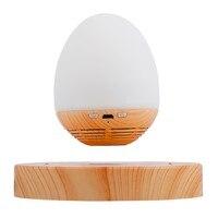 MOXO S1 Magnetic Levitation Speaker Portable Wireless Bluetooth Speakers Wood Base Floating Maglev Speaker With LED