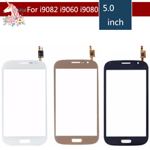 10pcs/lot For Samsung Galaxy Grand GT i9082 i9080 Neo i9060 i9062 i9063 Plus i9060i Touch Screen Digitizer Sensor Outer Glass new 100% test touch screen digitizer assembly replacement for samsung galaxy grand neo plus i9060i i9060 black with free tools