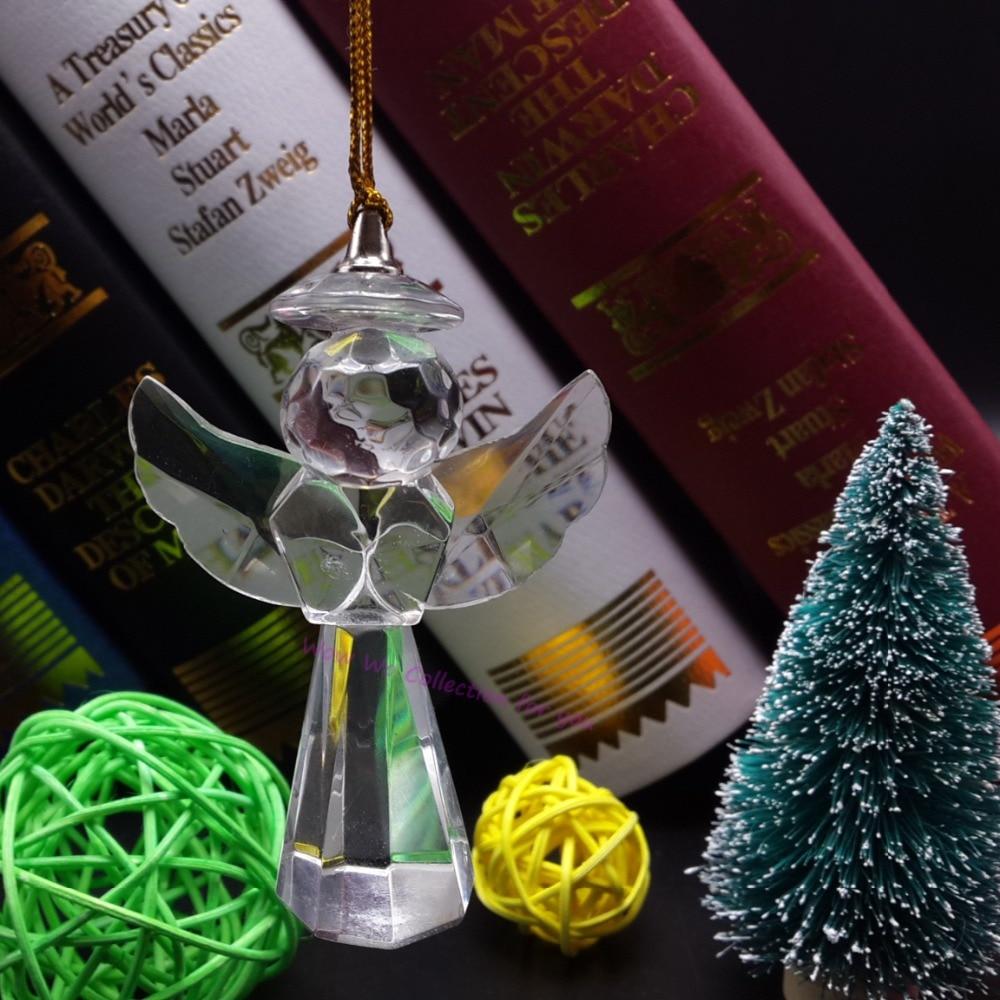 envo gratis unids ngel de cristal colgantes para adornos para rboles de navidad colgando