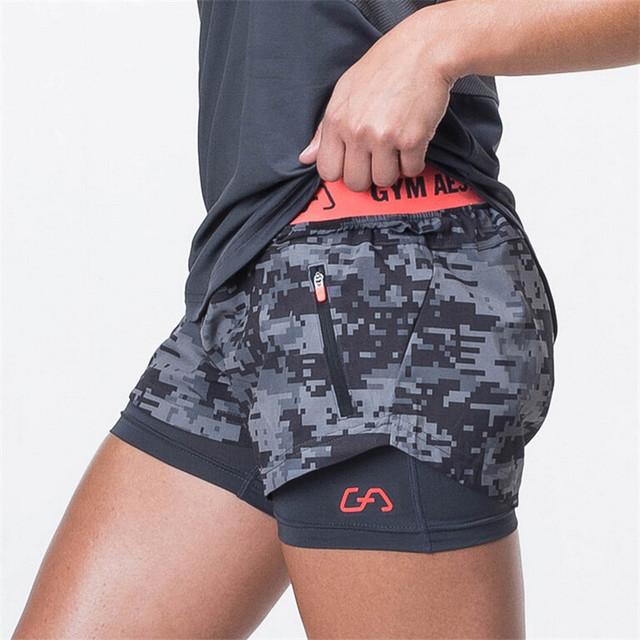 Venta caliente de Las Mujeres Pantalones Cortos Ocasionales de Las Mujeres Pantalones Cortos de Compresión Fresco de Las Mujeres Pantalones Cortos de Cintura Elástica Tamaño S-XL