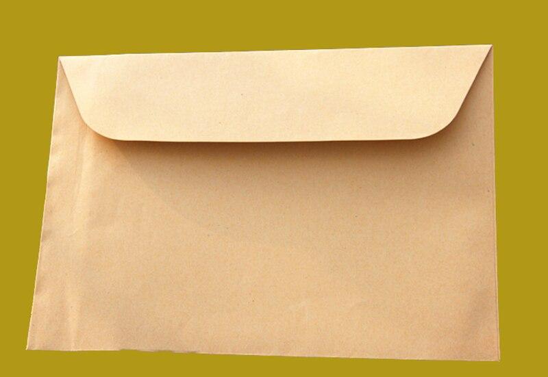 100pcs Lot Kraft Paper Big Envelope For A4