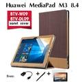 Для Huawei М3 кобура сращивания случаях MediaPad M3 tablet case BTV-W09/DL09 8.4 дюйм(ов) приспособление мода Кожаный Чехол