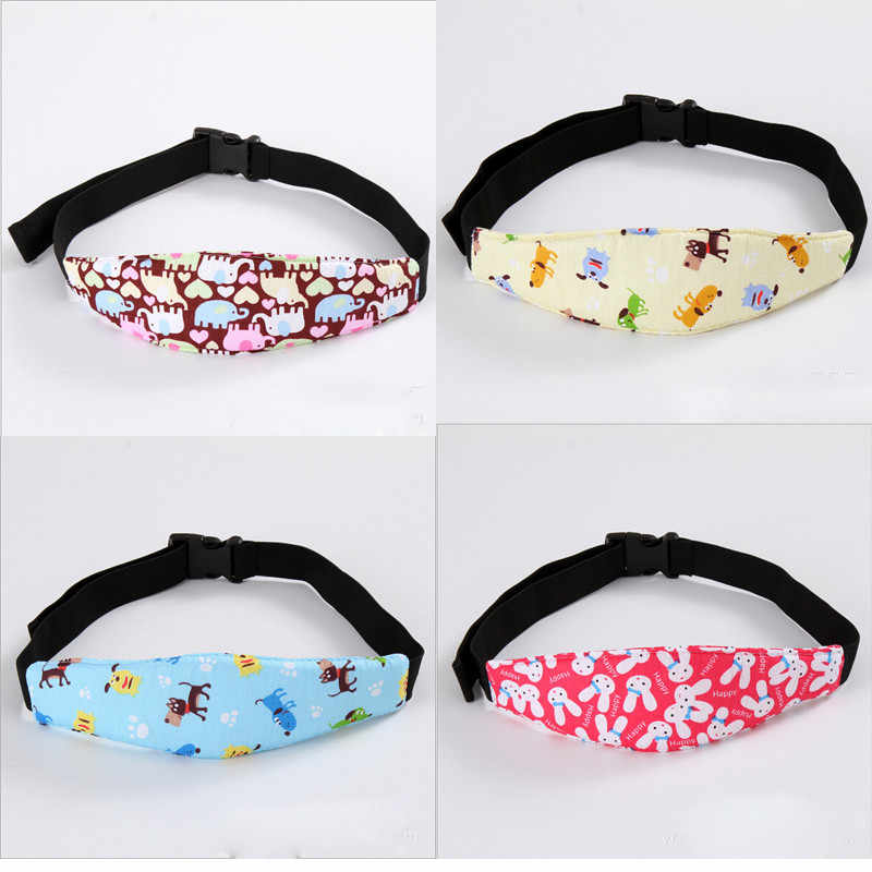 Adjustable Child Kids Safety Car Seat Travel Sleep Aid Head Strap Support Child safety Sashes strap Baby Safety belt