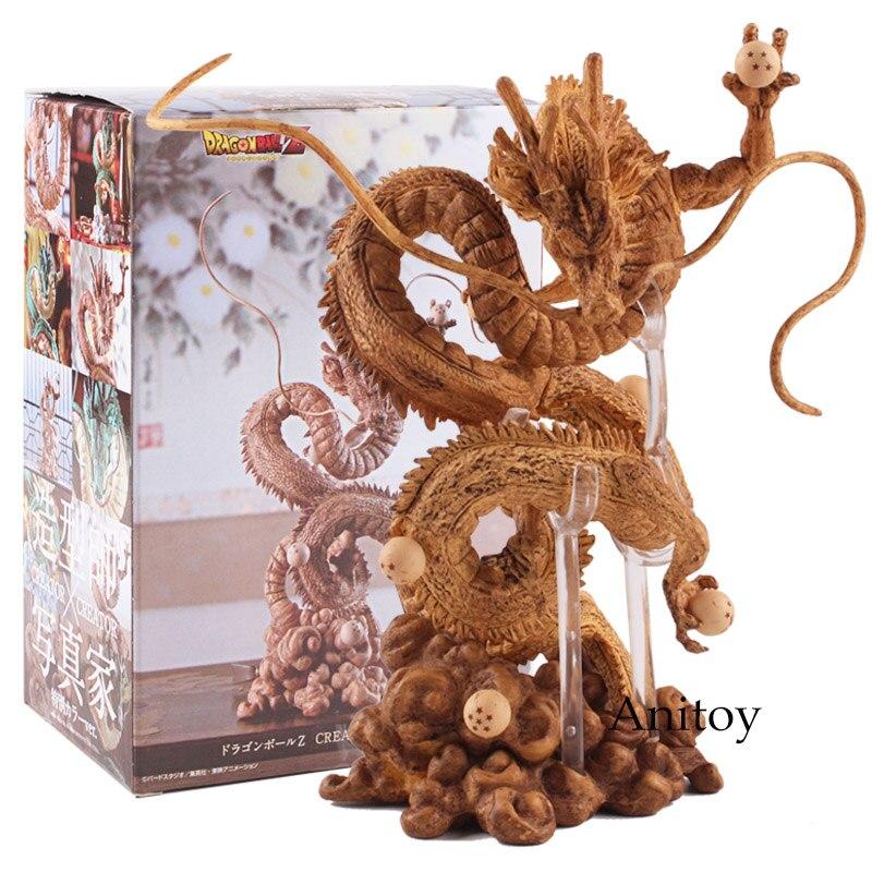 Japan Anime Dragon Ball Z Figure Shenron Winding Dragon Action Figure PVC Toy Gift 14.5~15.5 cm 1