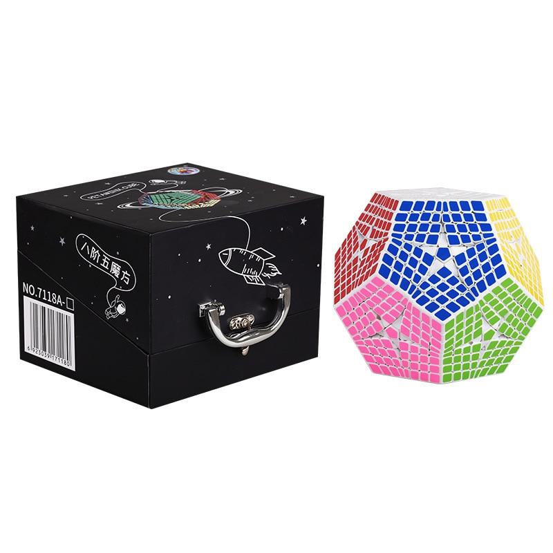 2018 Shengshou Tegaminx Puzzel Cube 12 Gezichten Professionele 8x8x8 PVC & Matte Stickers Cubo Puzzel Speed klassieke Educatief Speelgoed - 3