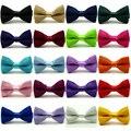 Crianças criança escola doce cor sólida pré amarrado gravata borboleta partido laços TSBWT0043