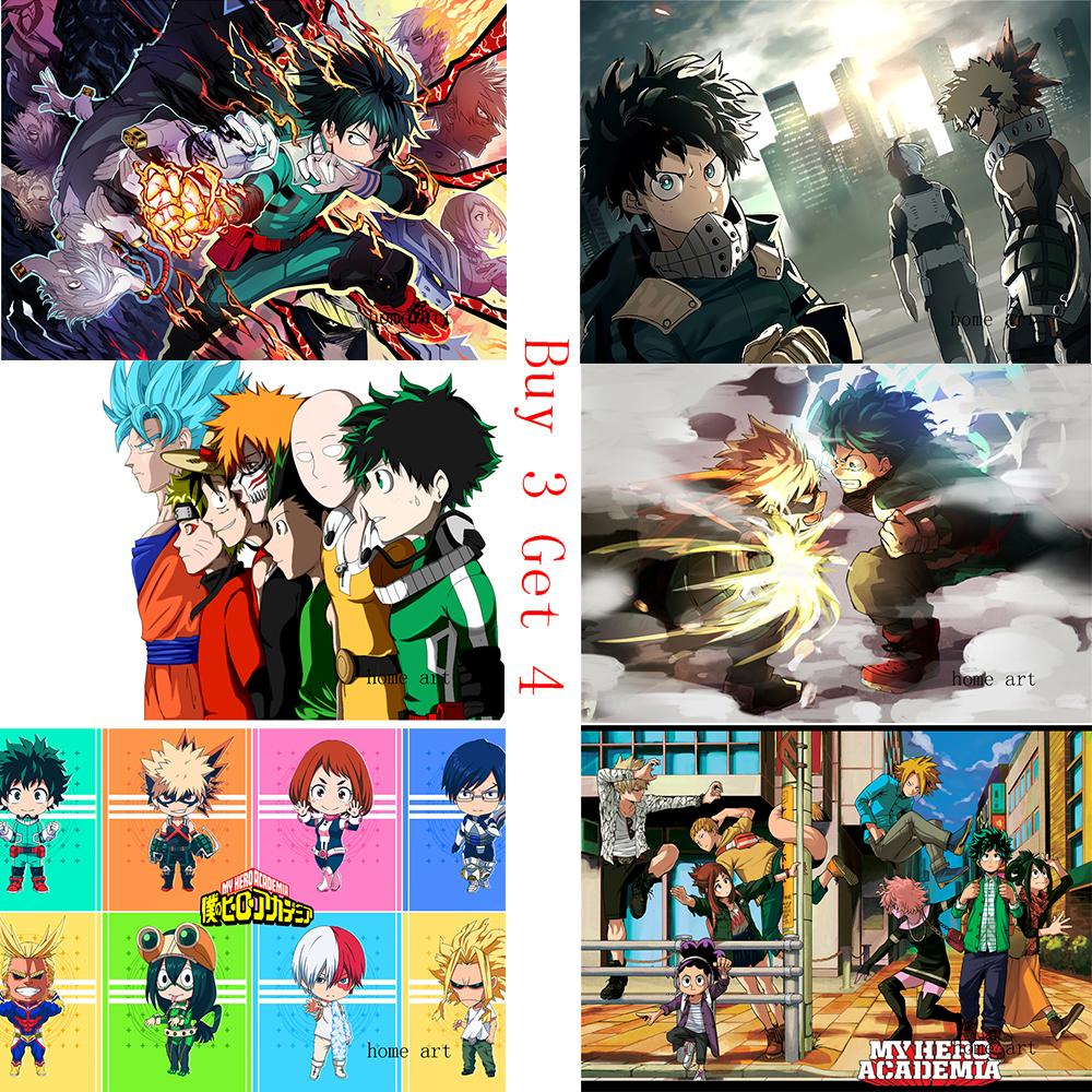 Boku No Hero Academia Anime Wallpaper Clear Image Wall Stickers
