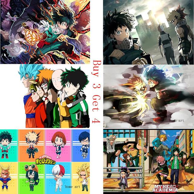 Boku No Hero Academia Anime Wallpaper Clear Image Wall Stickers Home