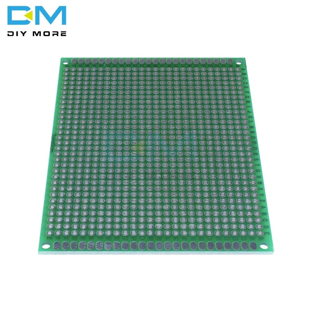 Circuit imprim/é universel 10 pi/èces 2cm /× 8cm Double faces Prototypage Carte de circuit imprim/é//électroniques souder
