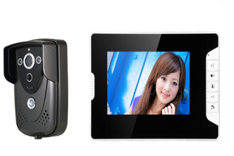 7 Inch 700TVL Intercom Open Lock Video Door Phone 813FC