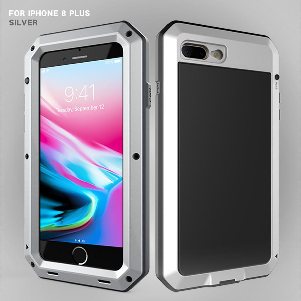 HTB1QYL6eStYBeNjSspkq6zU8VXa4 Heavy Duty Protection Doom armor Metal Aluminum phone Case for iPhone 11 Pro Max XR XS MAX 6 6S 7 8 Plus X 5S 5 Shockproof Cover
