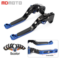 MDMOTO Pair Adjustable CNC Motorcycle Clutch Brake Levers For Honda CBR650F CB650F CBR 650 F CB