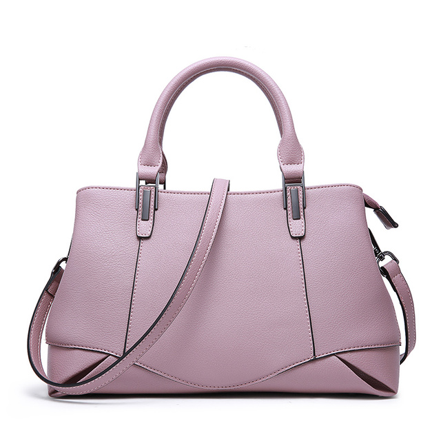2019 Elegant Shoulder Bag Women Genuine Leather Luxury Handbags Women Bags Office Lady Bags Messenger Crossbody Bag for Women