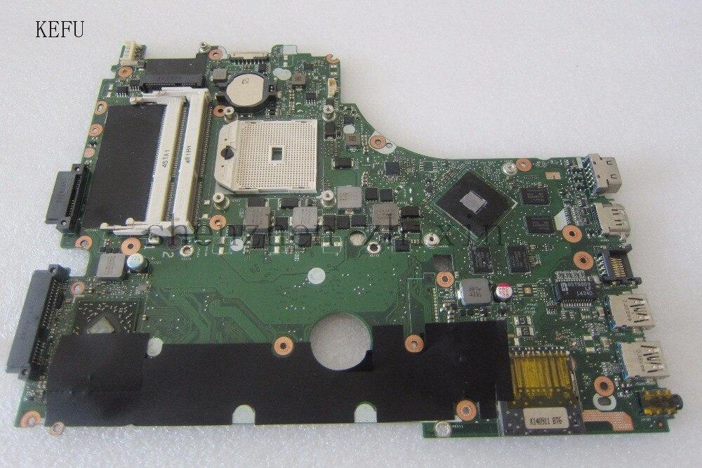 Livraison gratuite! La carte mère d'ordinateur portable pour ausu X550 X750 X550DP X750DP 60NB01N0 Avec graphique test complet