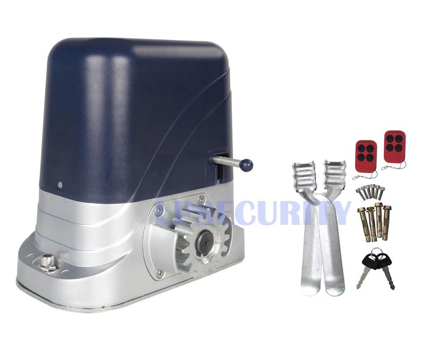 800kgs 220v automatic sliding gate motor auto sliding gate for Sliding gate motor kit
