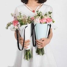 Корейская оберточная бумага легко носить конус подарок цветок минималистский упаковка Оригинальность DIY портативный букет флорист украшения 10 шт