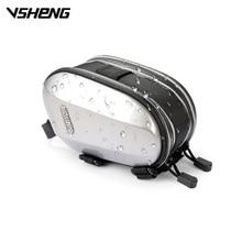 VSHENG 4″/4.7″ Smartphone Bike Case Touch Screen Front Frame Bicycle Bag Top Tube Bike Bags Waterproof MTB Cycling Saddle Bag