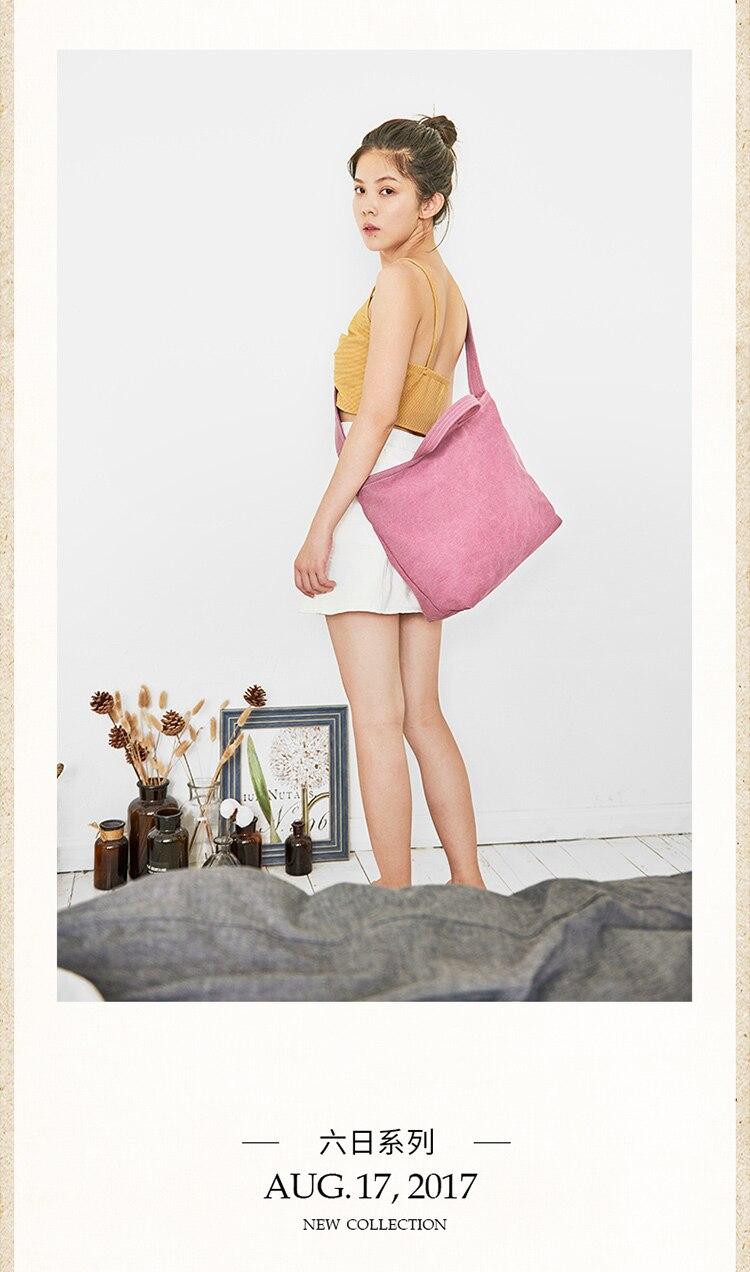 2019 le nouveau sac de dame version coréenne du style national en pente à travers l'épaule simple