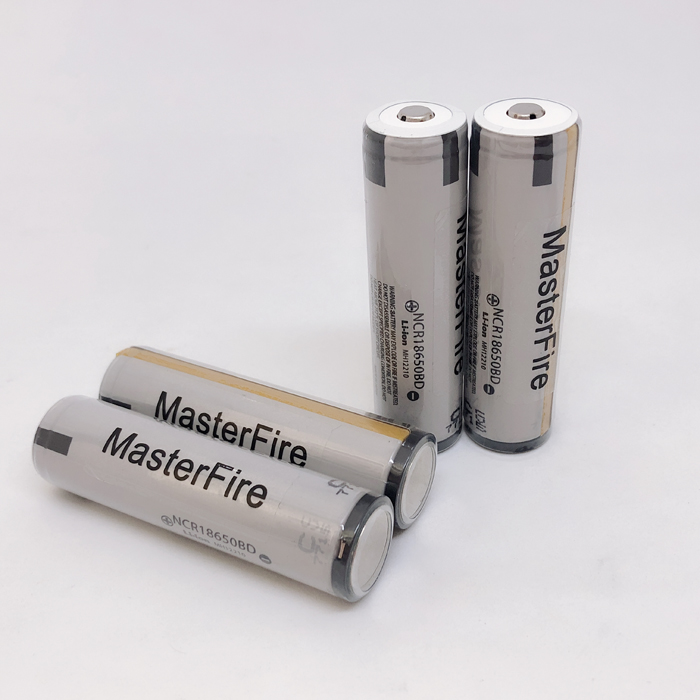 18pcs MasterFire Protected Original 18650 battery high drain NCR18650BD 3 7V 3200mAh batteries 10A discharge for Panasonic in Rechargeable Batteries from Consumer Electronics