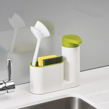 Kitchen Bathroom Liquid Soap Dispenser Home Bathroom Plastic Kitchen Appliances Liquid Shampoo Shower Gel Container Holder