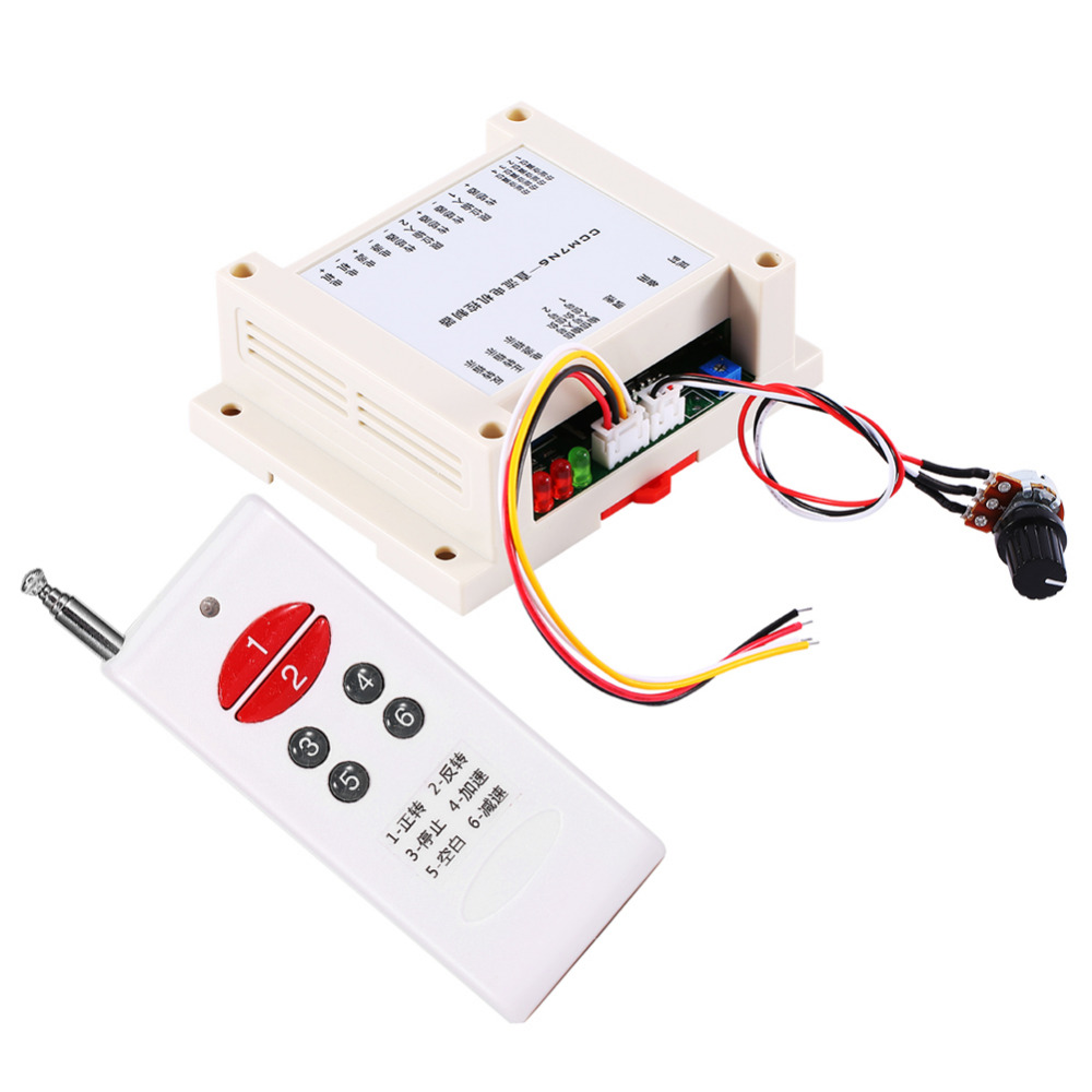 ФОТО 12-30V 200W Brushed DC Motor Speed Controller Forward Reverse Controller