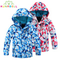 Children Outerwear Warm Coat Sport Kids Clothes Sport Coat Waterproof Windproof Boys Girls Jackets For 3-12T Spring Autumn Tops