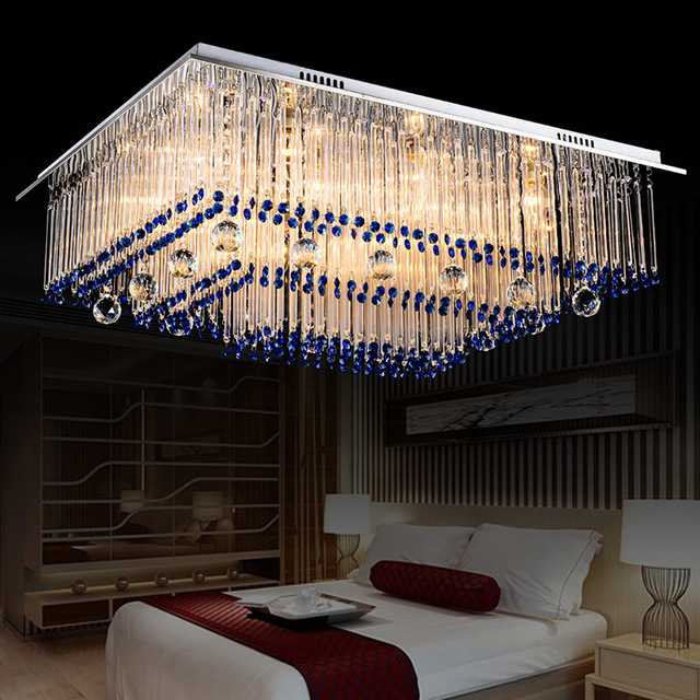 Modern Crystal Ceiling lightings Lamp Luxury Home Living Room led surface mounted luminaire led plafond lustre.jpg 640x640 5 Unique Luminaire Led Plafond Pkt6