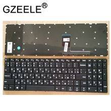 GZEELE جديد لينوفو ideapad 110 15 110 15ACL 110 15AST 110 15IBR الروسية RU الأسود لوحة مفاتيح الكمبيوتر المحمول