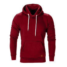 Brand Male Hoodies Top Pullover for Autumn Men Sweatshirt Clothe Long Sleeve Pocket Warm Hooded Sweatshirt Tracksuits Winter