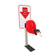 Ycall kolorowa instrukcja obsługi dystrybutor biletów podjąć szereg do bezprzewodowego System zarządzania kolejkami numer obsługi klienta tanie tanio Ticket Dispenser K-T Manual Ticket Dispenser Red transparent dark purple blue grey or at customer s request 2-digit number or 3-digit number