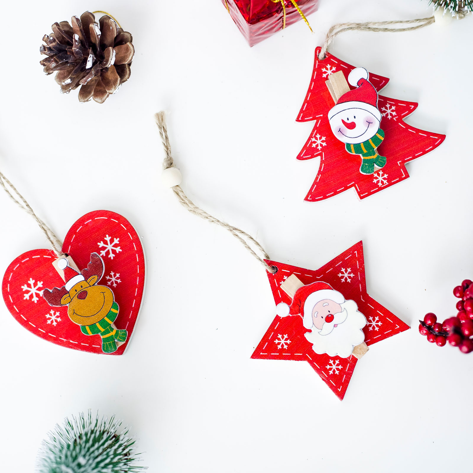 Hanging Christmas Decorations.Us 0 73 28 Off 2019 New Year Wooden Christmas Tree Ornaments Pendant Hanging Xmas Kids Gifts 2018 Merry Christmas Decorations For Home Decor In