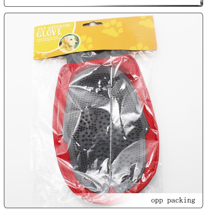 Pet brush Glove Deshedding