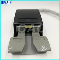 DEASIN Square Dental Foot Control Pedal for Standard Unit 2 hole 1 PCS hole switch for dental chair equipments