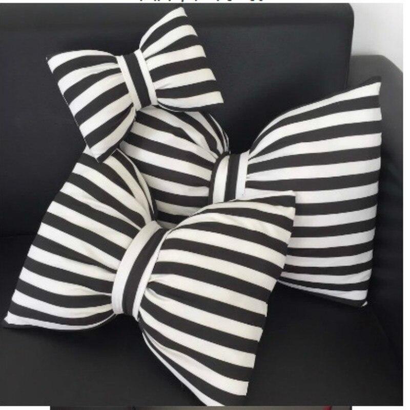 Kawaii Bow Car Pillow Cushion Soft Plush Dolls & Stuffed Toys For Kid Children Girls Babys Best Christmas Birthday Gift Hot Sale