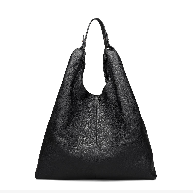 2019 Simple Single Shoulder Bag Female Large-capacity Cowhide Leather Womens Bag Tote OEM One Generation2019 Simple Single Shoulder Bag Female Large-capacity Cowhide Leather Womens Bag Tote OEM One Generation