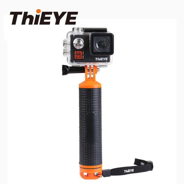 ThiEYE Floating Hand Grip Pole Mount for Gopro Hero 6 5 4 Eken ThiEYE Action Sports Camera Bobber  for Diving Swimming