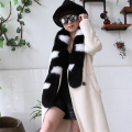 Free Shipping 	Ladies' 100% Genuine Real Whole Fox Fur Women's Scarf Shawl Collar Wrap Winter Warm Scarves Fashion