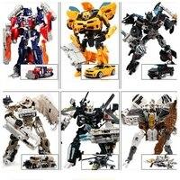 New Original Box Transformation Car Robots Toys Action Figures Classic Transformation Robots Toys For Children Gifts