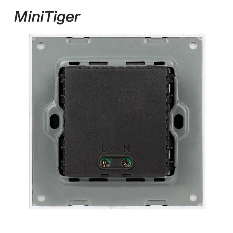 Minitiger 벽 PC 패널 영국 표준 벽 전원 소켓 콘센트 듀얼 USB 스마트 충전 포트 5V 2A 출력