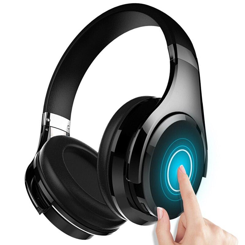 Фанатик B21 стерео Бас Беспроводной Bluetooth 4,0 Наушники Hi-Fi наушники жест Touch Управление Шум отмена для iPhone 6 6S 7/7