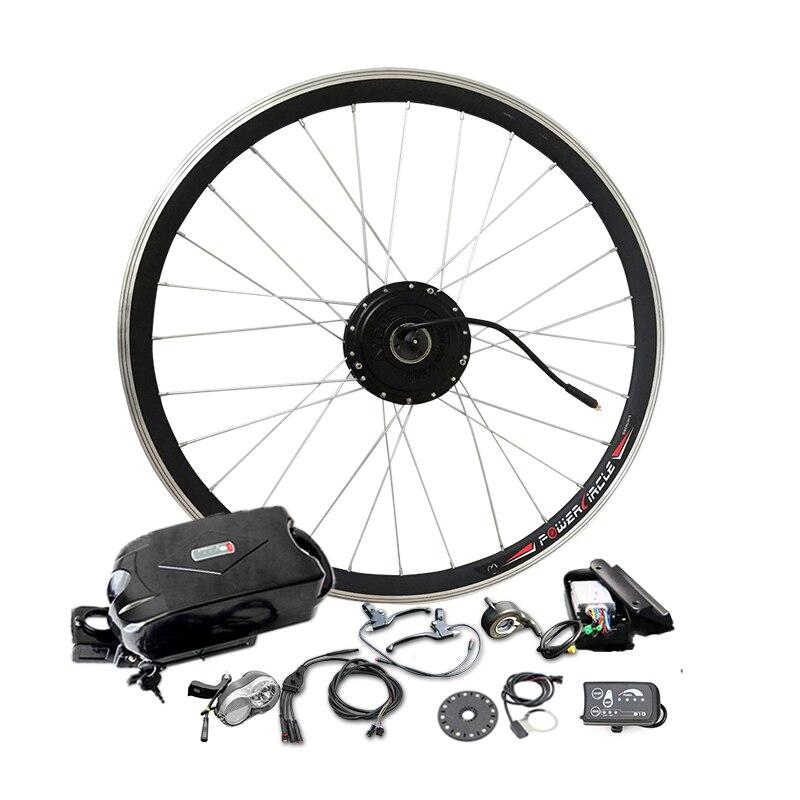 Nouveau kit de bricolage 36V10Ah batterie 350 W vélo électrique moteur Ebike Kits de Conversion affichage de LED motos combinaison à part