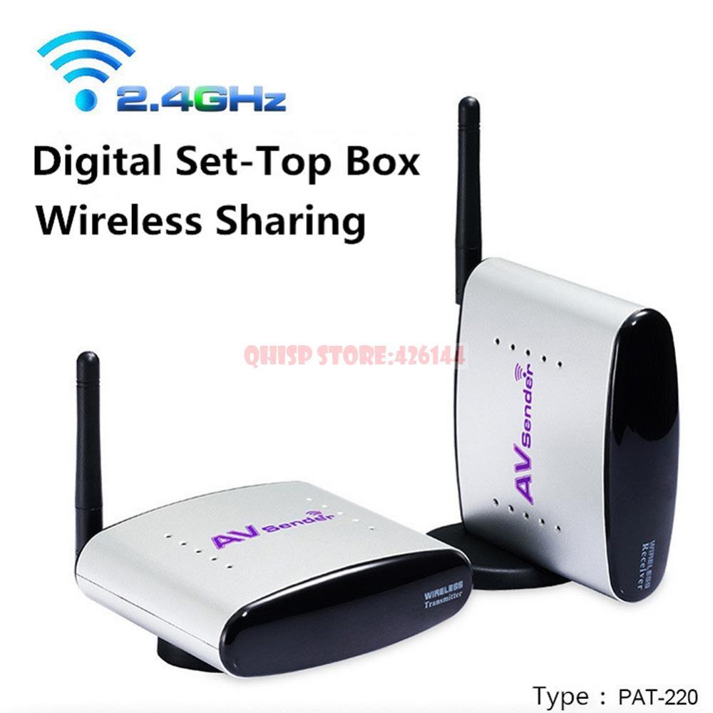 PAT 220 150M 2 4GHz Digital STB font b Sharing b font Device Wireless A V