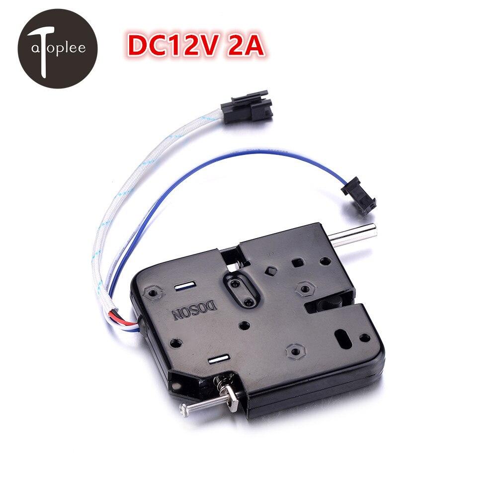 Atoplee 1 PCS DC12V 2A Serrure Électromagnétique Serrures Électroniques Pour Vente-Machine Étagère De Rangement De Verrouillage Classeur