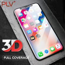 PLV Screen Protector 0.3mm 9H Premium Tempered Glass For iPhone X Toughened Protective Glass Film For iPhone X Glass